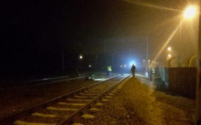 Potrącony przez pociąg – Legionowo