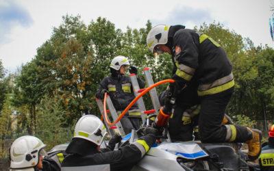 Ćwiczenia ratownictwa technicznego