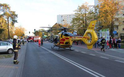 Zabezpieczenie lądowania LPR – ul. Sowińskiego