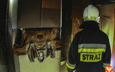 Pożar kotłowni – ul. Olszankowa