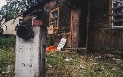 Zadymienie w pustostanie – ul. Bandurskiego