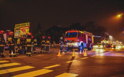 Kolejny wypadek na skrzyżowaniu – ul. Słowackiego/Jagiellońska