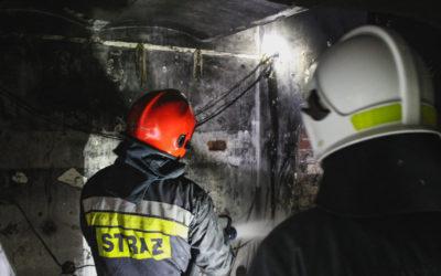 Dwa pożary w jednym budynku – ul. Polskiej Organizacji Wojskowej