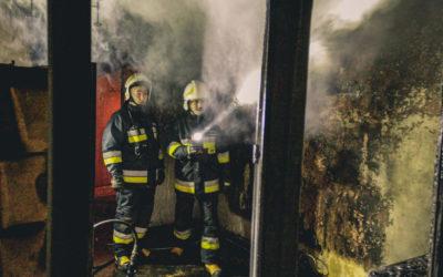 Pożar mieszkania – ul. Zegrzyńska, Legionowo