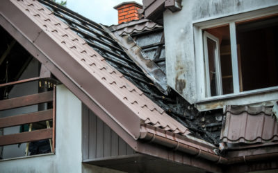 Pożar dachu zamieszkałego budynku – ul. Głowackiego