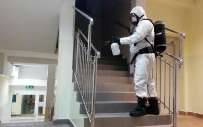 Fumigacja Szkoły Podstawowej nr 4 w Legionowie