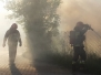 Pożar kontenera biurowego – ul. Zegrzyńska