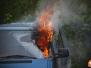 Pożary na poligonie w CSP Legionowo